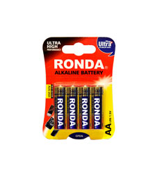 باتری قلمی آلکالاین روندا 4 عددی
