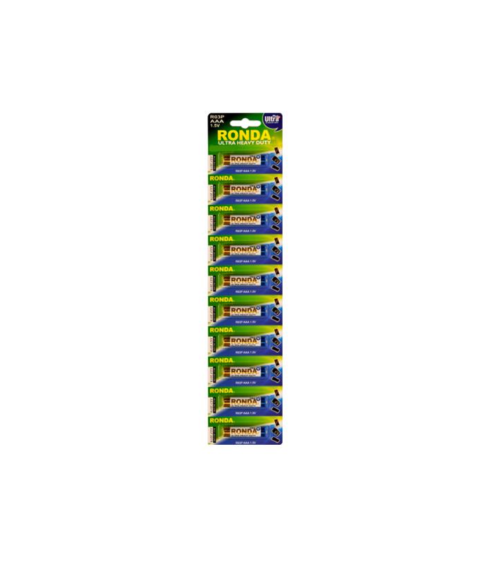 باتری نیم قلمی هوی دیوتی روندا 10 عددی