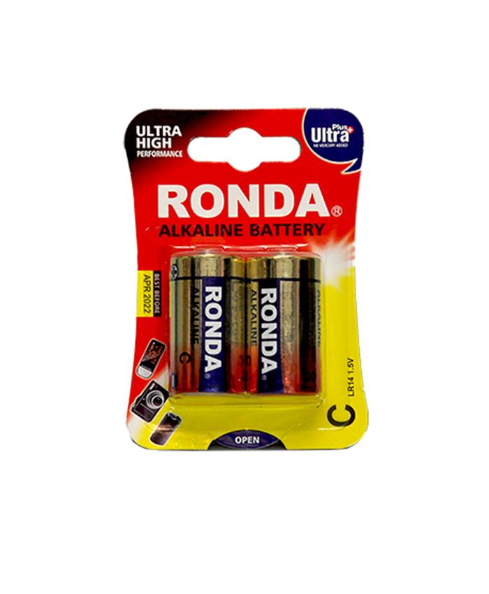 باتری متوسط آلکالاین روندا