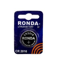 باتری لیتیوم سکه ای تکی CR2016