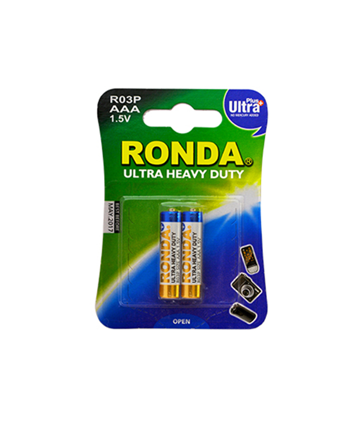 باتری نیم قلمی هوی دیوتی روندا 2 عددی