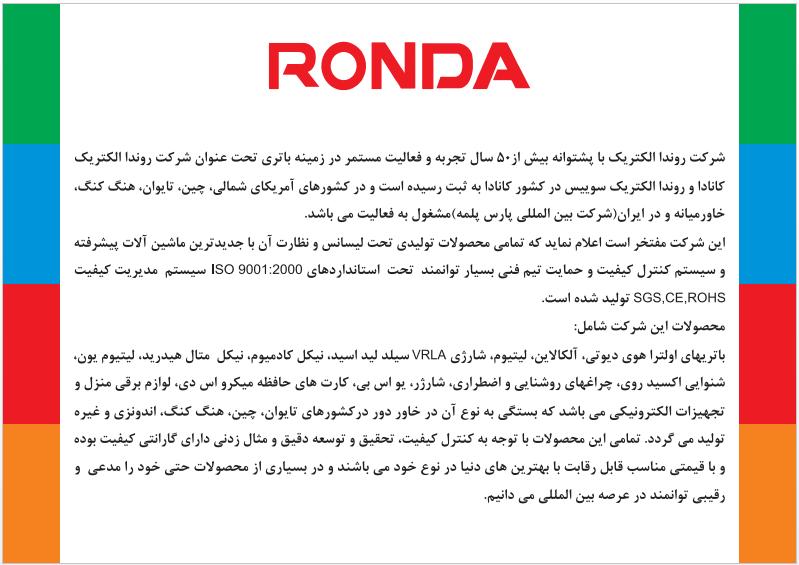 مقدمه روندا