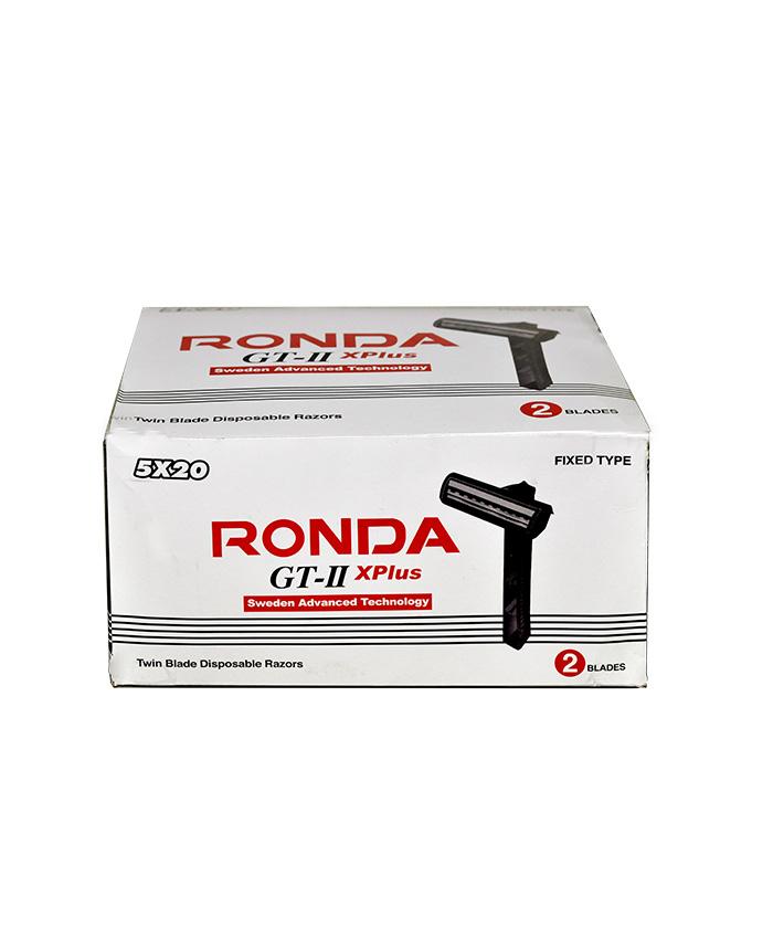 جعبه تیغ دو لبه روندا