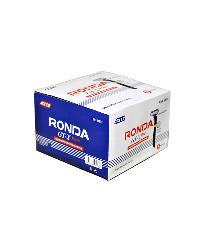 جعبه تیغ 5 لبه مردانه روندا