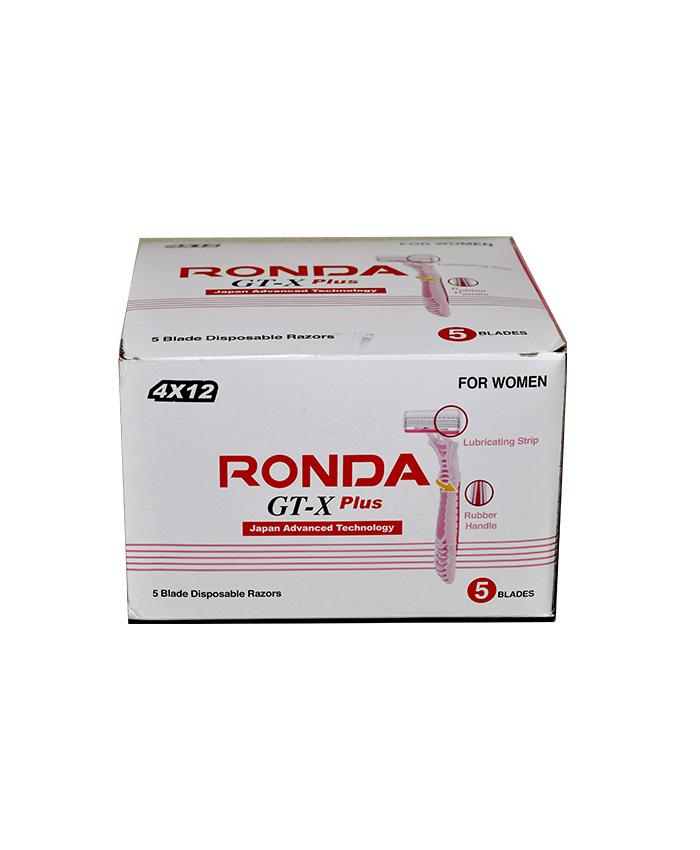 جعبه تیغ 5 لبه زنانه روندا